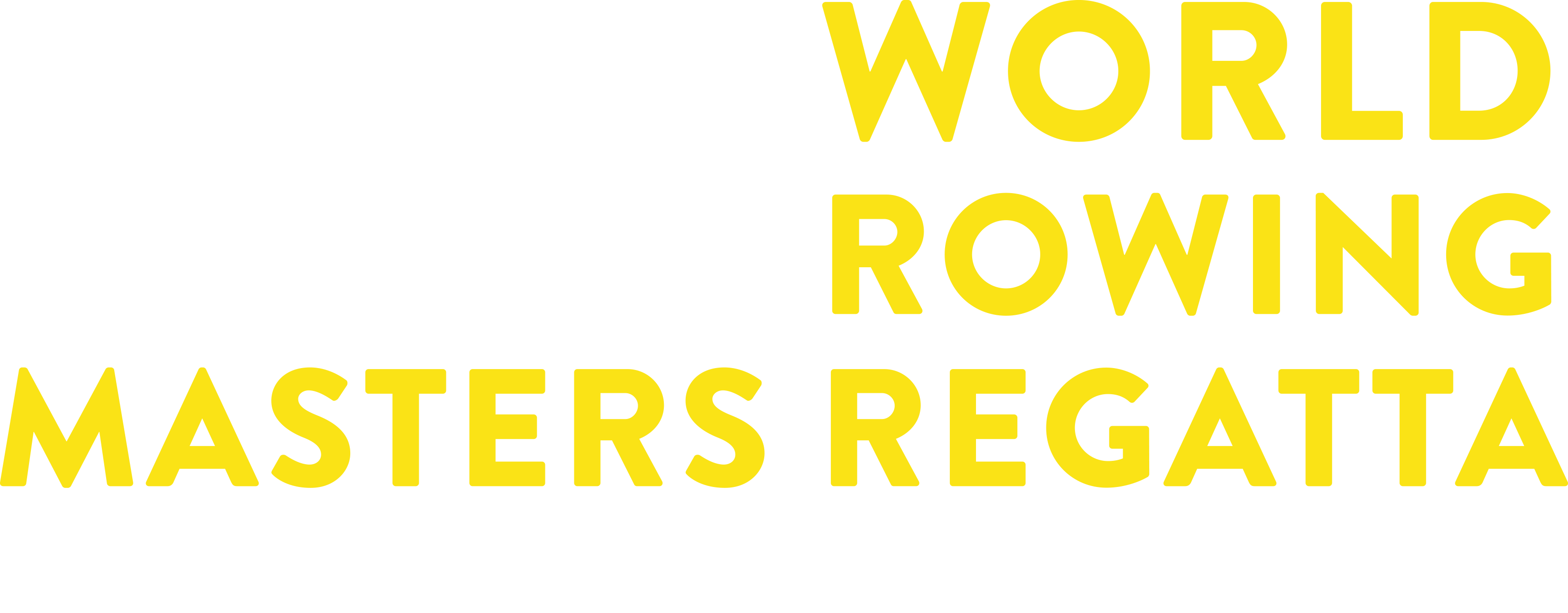 2020 World Rowing Masters Regatta
